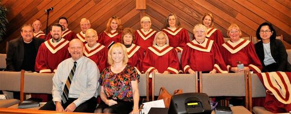 Chancel Choir Rehearsal