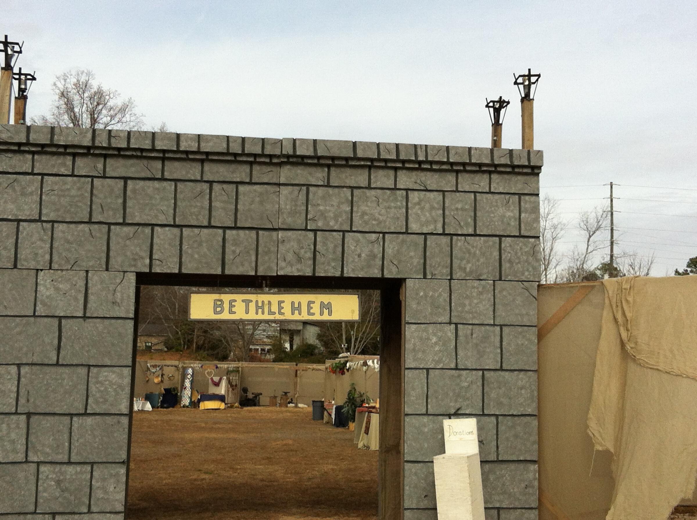 Bethlehem Walk Construction - Nov 24 2017 9:00 AM